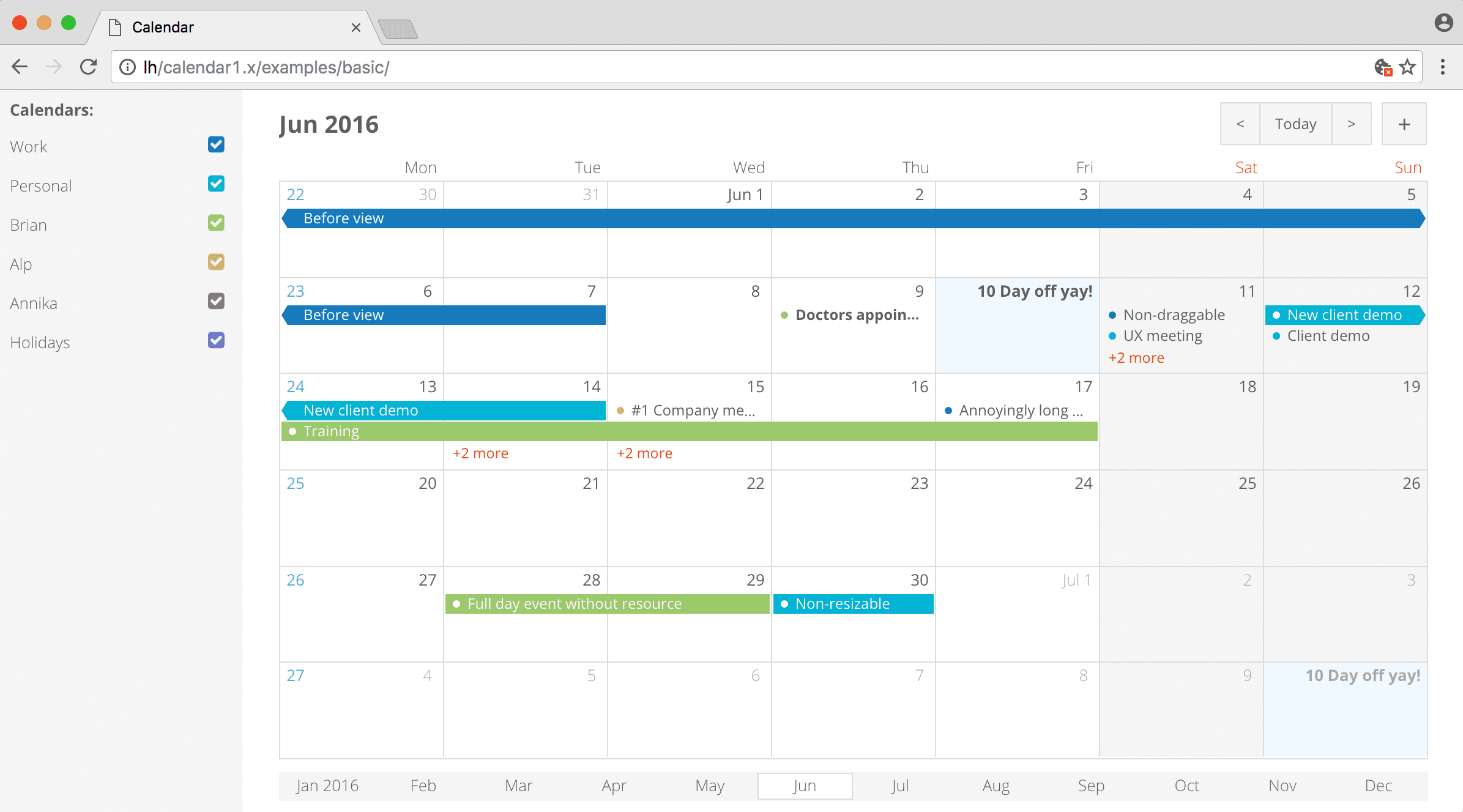 Table Calendar Jquery : Javascript gantt chart drag and drop