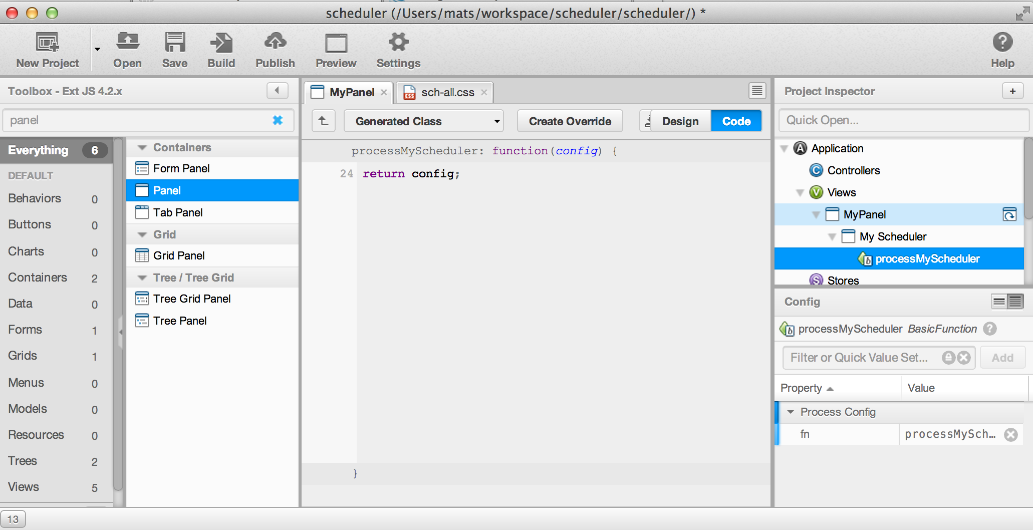 Using ext scheduler in sencha architect screen shot 2013 04 03 at 91633 pm nvjuhfo Images