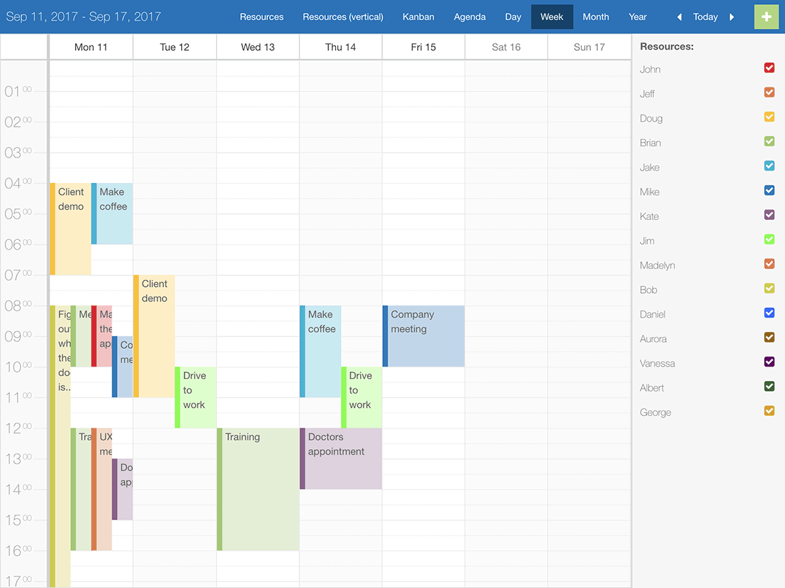 Scheduler for Ext JS – Bryntum